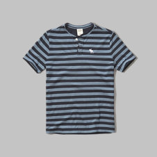 girls iconic stripe henley