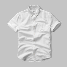 girls solid short sleeve pocket shirt