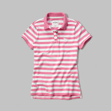 girls iconic polo