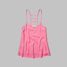 girls strappy swing cami