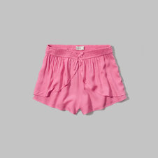 girls ruffle shorts