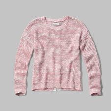 girls lace detailed sweater