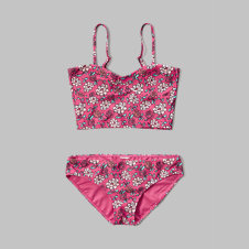 girls tankini two-piece swimsuit