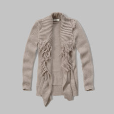 girls open cardigan sweater