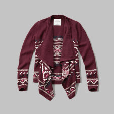 girls blanket cardigan