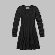 girls sweater skater dress