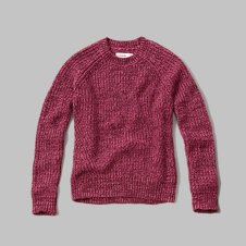 girls crew neck sweater