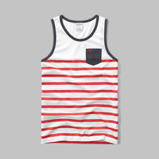 girls americana pocket tank