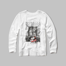 girls disney graphic sweatshirt