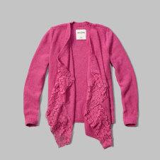 girls open blanket sweater