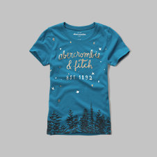 girls shine graphic tee