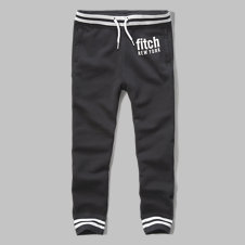 girls tipped logo graphic joggers