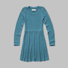 girls cozy sweatshirt dress