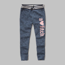 girls shine graphic jogger sweatpants
