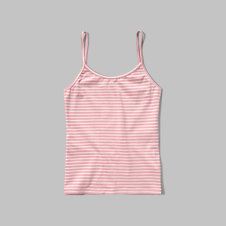 girls knit slim tank