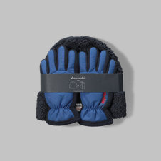 girls beanie-and-gloves gift set