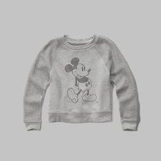 girls mickey mouse graphic sweatshirt