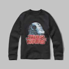 girls star wars fleece sweatshirt