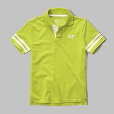 girls glow in the dark polo