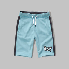 girls a&f fleece athletic shorts