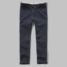 girls a&f slim straight chinos
