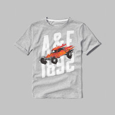 girls vintage moto graphic tee