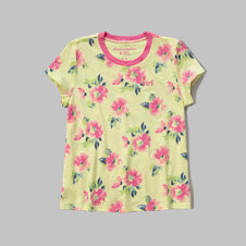 girls easy tee
