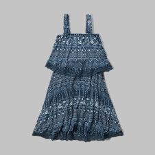 girls knit tier dress