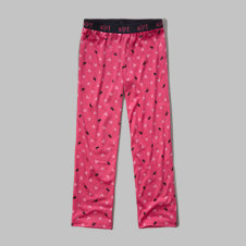girls patterned sleep pants