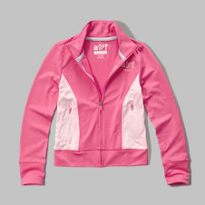 girls active full zip jacket