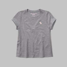 girls easy logo tee