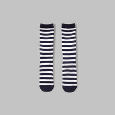 girls a&f glow in the dark stripe socks
