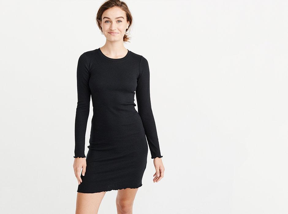 3f32b10d6c95b3 Dames Nonchalante kabeltrui-jurk