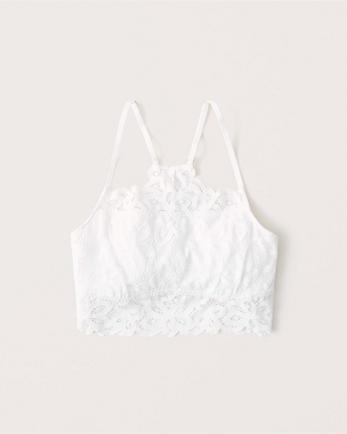 ANFSquare-Neck Lace Bralette