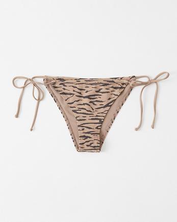 ANFCheeky Cinched Bikini Bottom