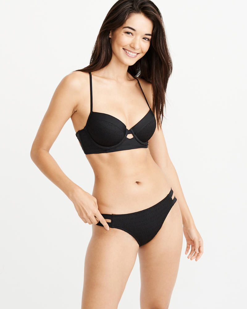 Smocked Push Up Bikini Top by Abercrombie & Fitch