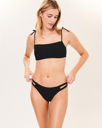 c70c5518dd725 Smocked Bralette Bikini Top