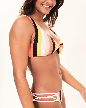 a0f457957b7 Twist-Front Bralette Bikini Top
