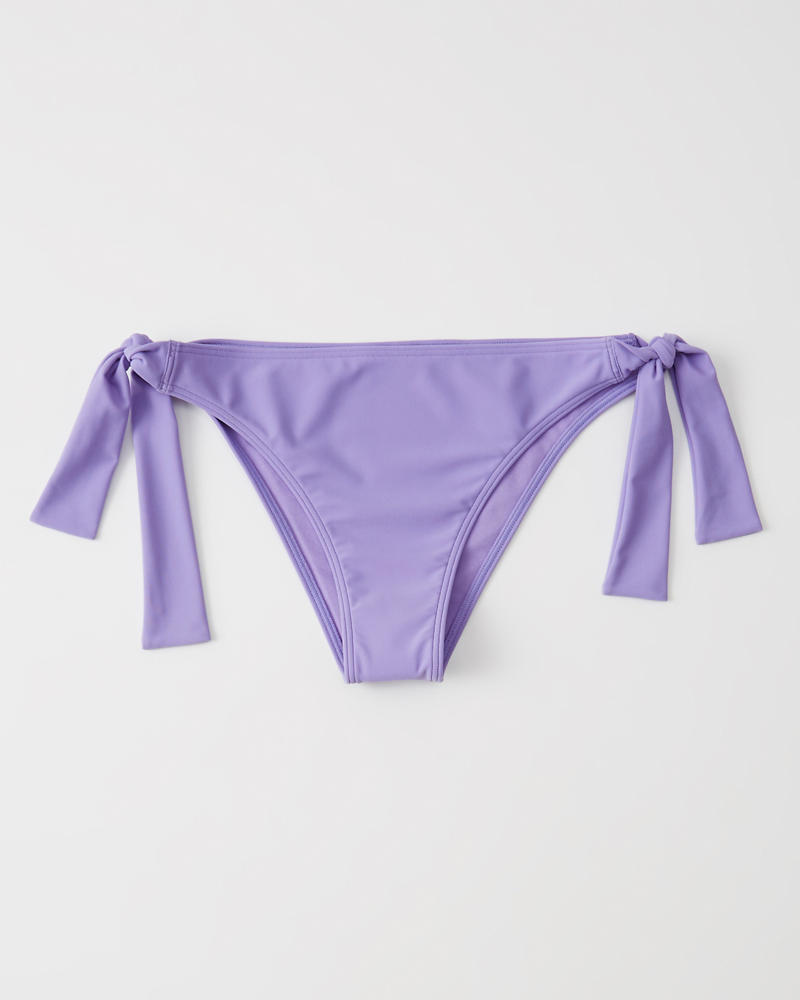 a9df9e4cd55a1 Womens Side-Tie Cheeky Bottoms