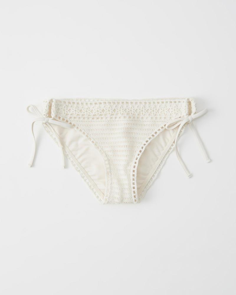 Crochet Bikini Bottoms by Abercrombie & Fitch