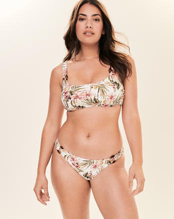 c100a12b5529 Womens Swimsuits, Bikinis, & Swimwear | Abercrombie & Fitch