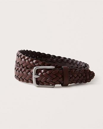 ANFBraided Leather Belt
