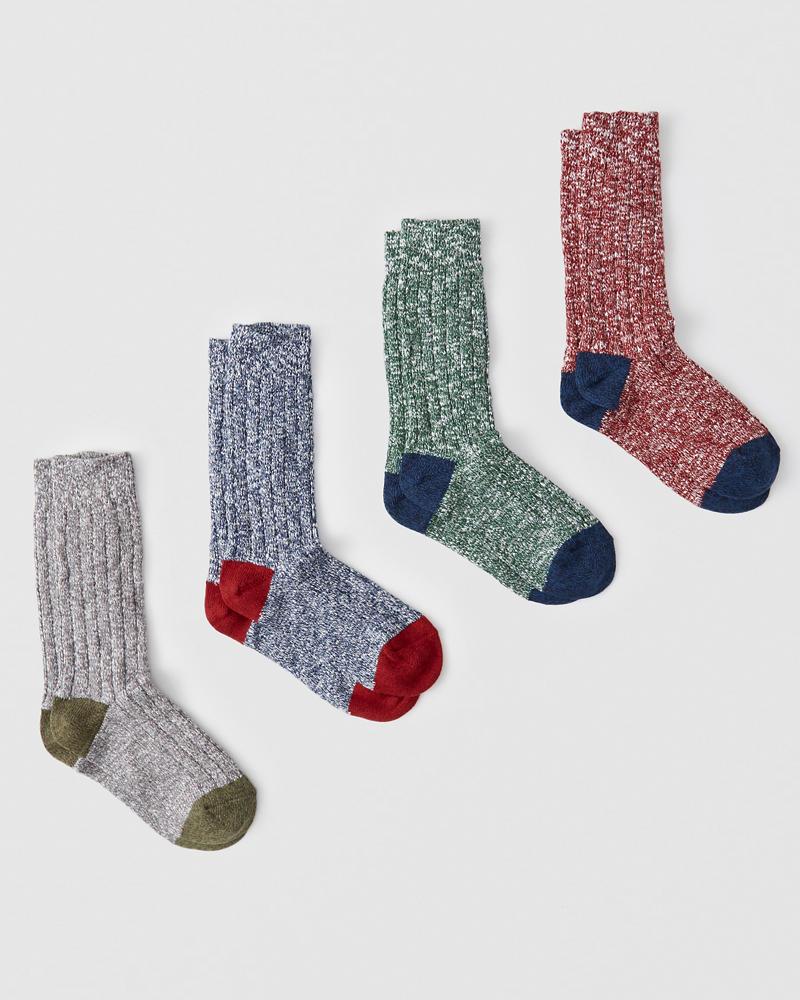 A&F Camp Socks Gift Set