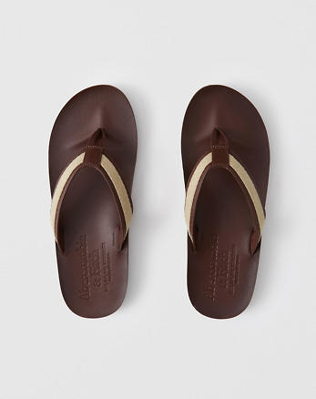 Leather Flip Flops d7bf0cbe8