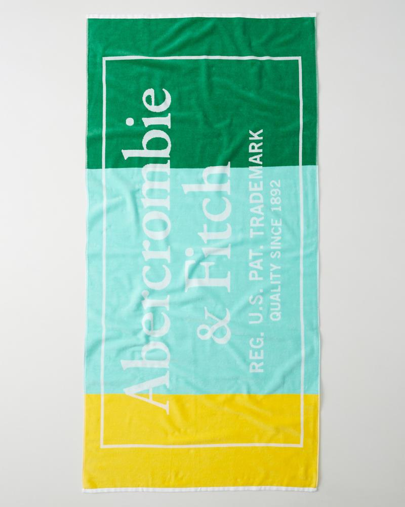 Serviette De Bain Abercrombie.Homme Serviette De Plage Avec Logo Homme Accessoires