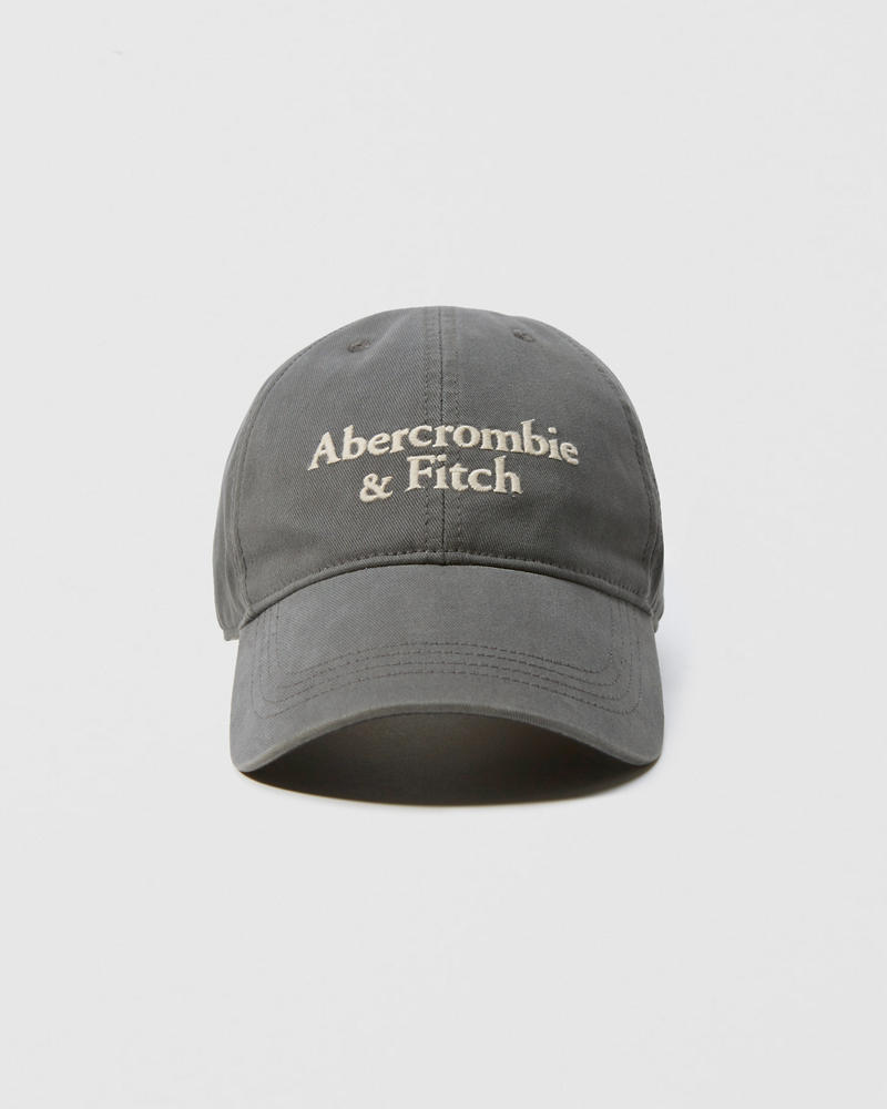 Mens Embroidered Logo Hat | Mens Accessories | Abercrombie com