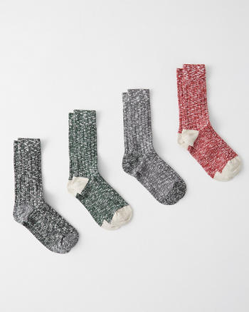 Camp Sock Set by Abercrombie & Fitch