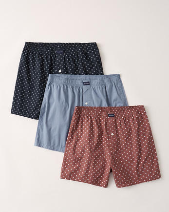 ANF3-Pack Woven Boxer