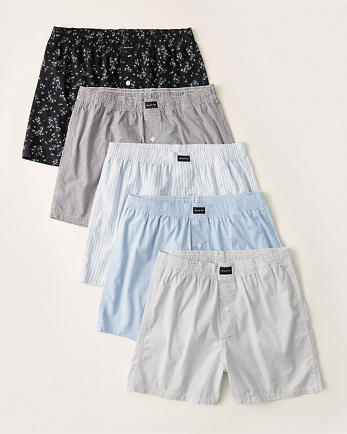 ANF5-Pack Woven Boxers