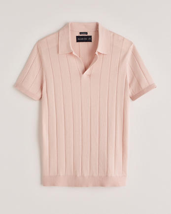 ANFShort-Sleeve Sweater Polo